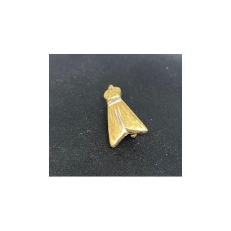Egyptisk berlock Fluga Sterling silver 925 med handgjord 18 karats guldplätering
