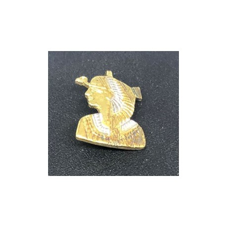 Egyptisk berlock Kleopatra Sterling silver 925 med handgjord 18 karats guldplätering