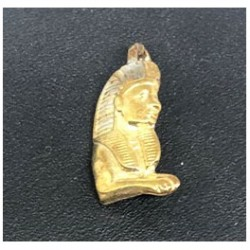 Egyptisk berlock Sphinx Sterling silver 925 med handgjord 18 karats guldplätering
