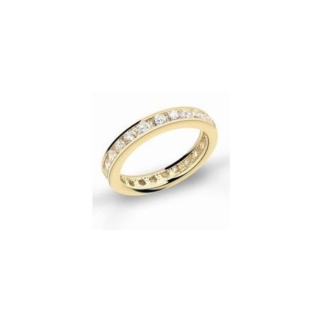 Diamantring - Guld
