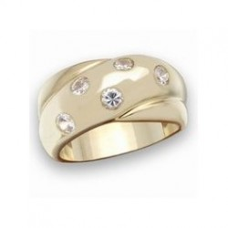 The Star kiss band ring