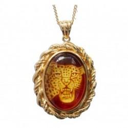 Medaljong Jaguar