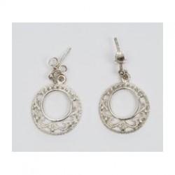 Örhängen Oriental Silver