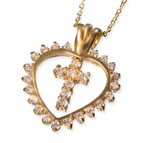Det eviga livetes hjärta Halsband