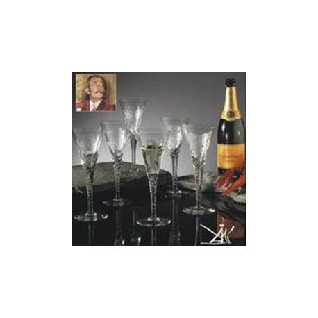 Dahli - Champagneglas